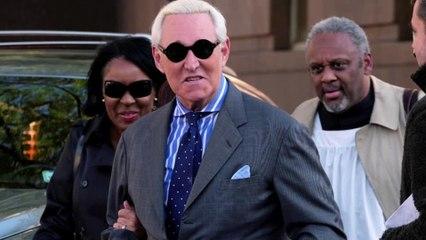 Trump ally Roger Stone faces sentencing