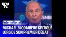 Primaires démocrates: Michael Bloomberg assailli de critiques pour son premier débat