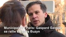 Municipales à Paris: Gaspard Gantzer se rallie à Agnès Buzyn