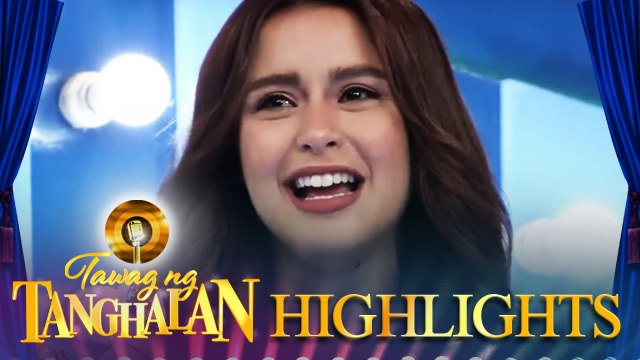 Yassi Pressman gets emotional on It's Showtime | Tawag ng Tanghalan