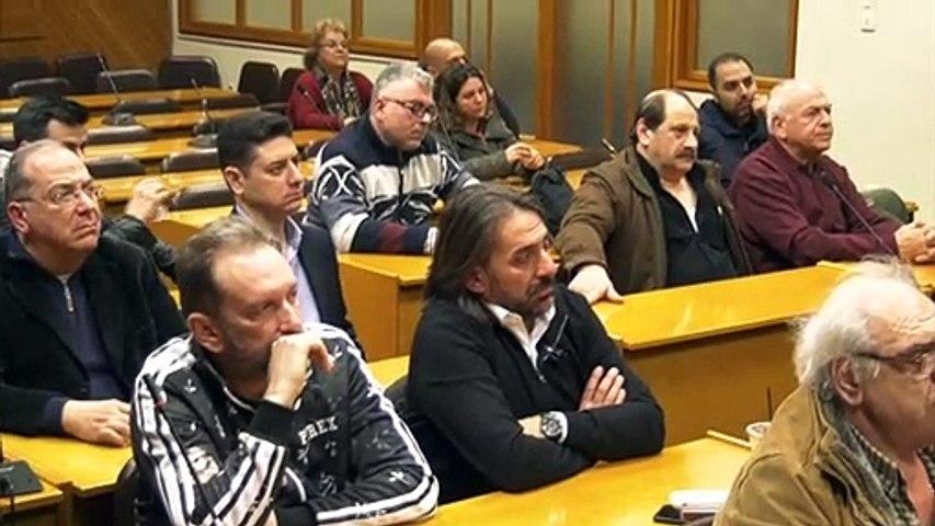 Ο αντικαπνιστικός νόμος και τα πνευματικά δικαιώματα στην εκδήλωση του ΕΒΕ Φθιώτιδας με ομιλητή τον Γ. Καββαθά