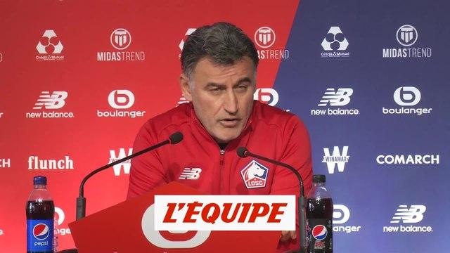 Galtier «choqué» par le frère de Kimpembe - Foot - L1 - Lille