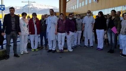 Annecy : hommage à l'infirmière de psychiatrie tuée par un patient à Thouars