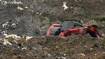 Crisis medioambiental en el País Vasco tras el derrumbe de un vertedero con residuos contaminantes