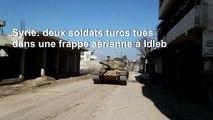 Syrie: Des troupes et des blindés turcs déployés sur la ligne de front d'Idleb, dans la ville de Sarmin