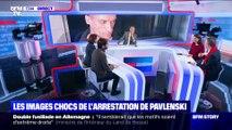 Story 3 : Les images chocs de l'arrestation de Piotr Pavlenski - 20/02