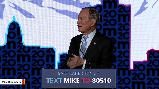 Mike Bloomberg Says Trump Was Winner Of Wednesday's Democratic Debate