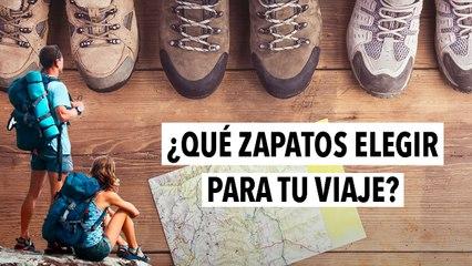 ¿Qué zapatos elegir para tu viaje?