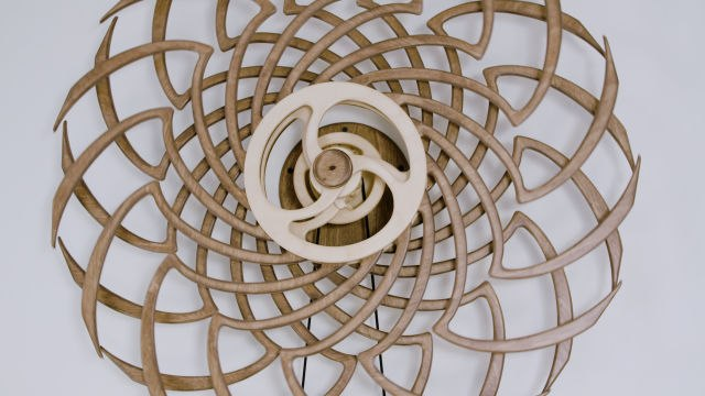 How This Guy Builds Mesmerizing Kinetic Sculptures