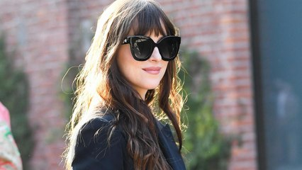 Dakota Johnson Made a Strong Case For Wearing Your Lingerie in Public