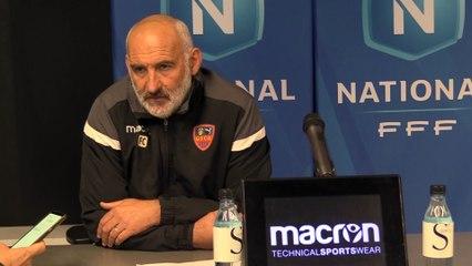 Vidéo - le point presse du coach F. Ciccolini avant la réception de Dunkerque