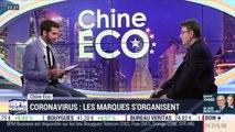 Chine Éco: Les marques s'organisent face au coronavirus par Erwan Morice - 20/02