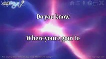 Diana Ross - Do You Know Where You're Going To Karaoke Version Instrumental