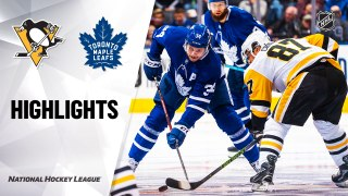Toronto Maple Leafs vs. Pittsburgh Penguins - Game Highlights