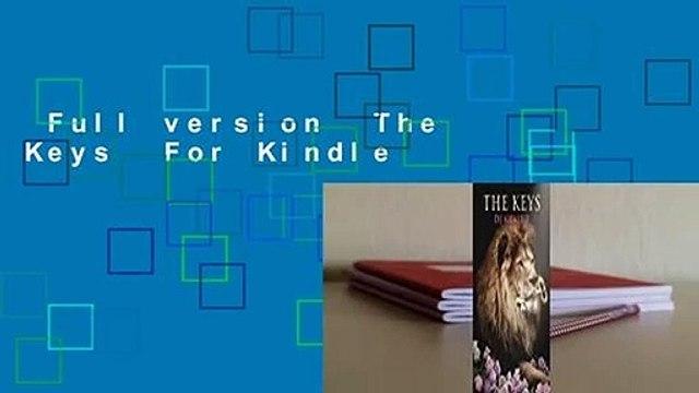 Full version  The Keys  For Kindle