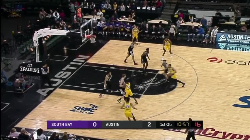 Talen Horton-Tucker (20 points) Highlights vs. Austin Spurs