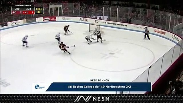Boston College Extends Winning Streak To Four, Takes Down Northeastern