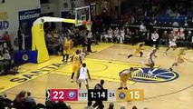 Xavier Rathan-Mayes (18 points) Highlights vs. Santa Cruz Warriors