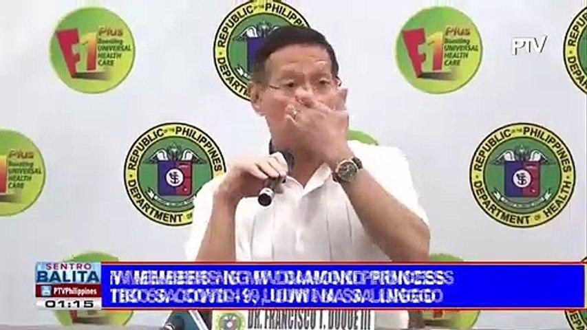 Pinoy crews ng MV Diamond Princess na negatibo sa COVID-19, uuwi na sa linggo