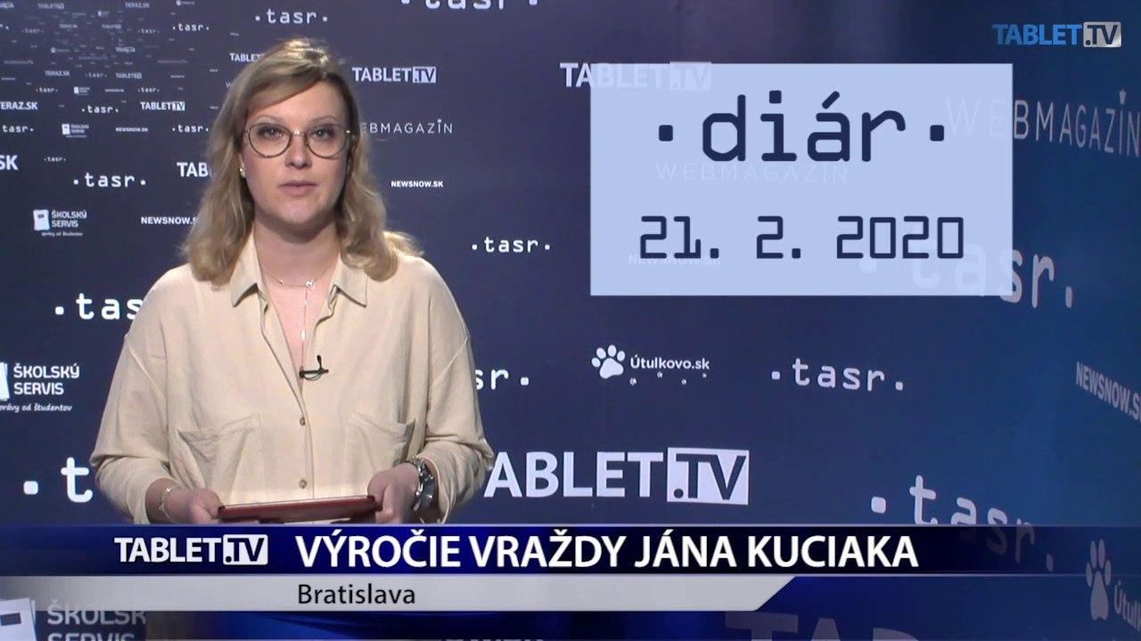 DIÁR: Výročie vraždy Jána Kuciaka