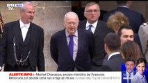 Michel Charasse, ancien ministre et sénateur, est mort