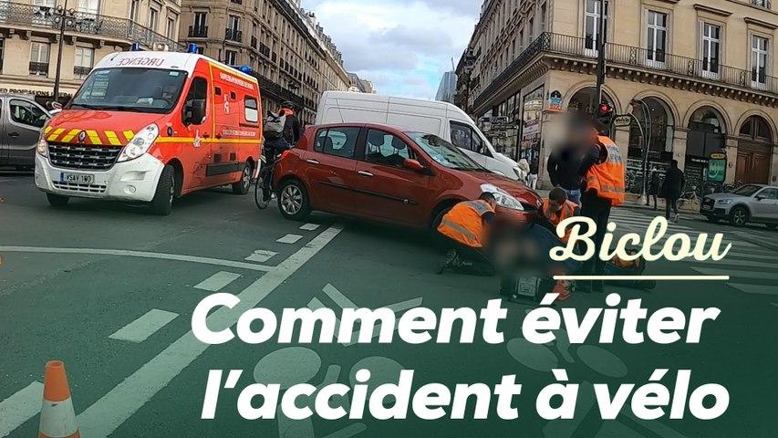 Comment éviter ces trois pièges pour ne pas avoir d'accident à vélo