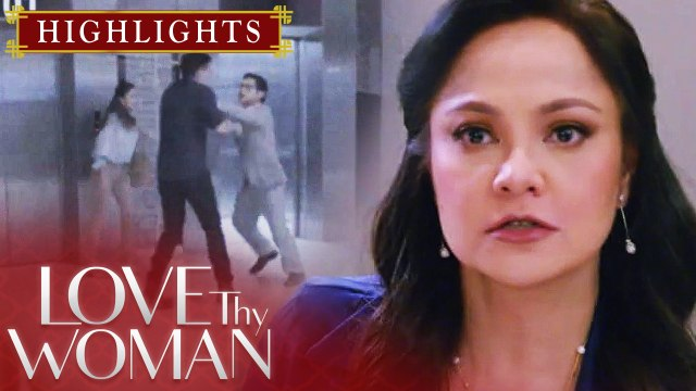 Lucy, nanggigil nang mapanood ang CCTV footage | Love Thy Woman