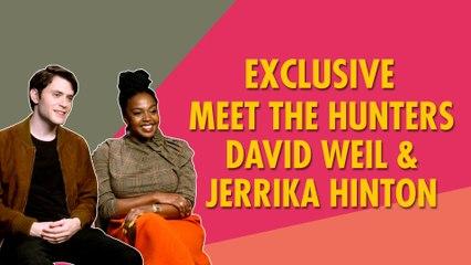 'Hunters' Behind The Scenes Revealed | David Weil | Jerrika Hinton