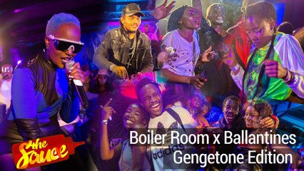 Boiller Room x Ballantines Gengetone Edition