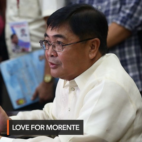 Duterte says he 'loves' immigration chief Morente amid POGO bribery mess