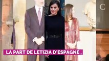 Letizia d'Espagne recycle une robe à fleurs très automnale