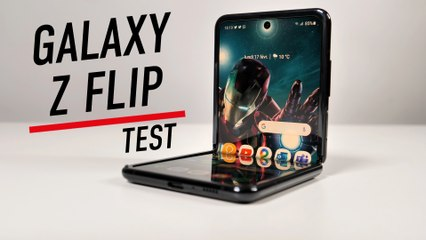 Test complet du Galaxy Z Flip