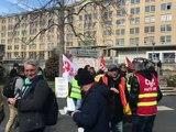 Olivier Véran, ministre de la Santé et des Solidarités en visite à Saint-Etienne - Reportage TL7 - TL7, Télévision loire 7