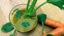 Recette : Jus de légumes détoxifiant