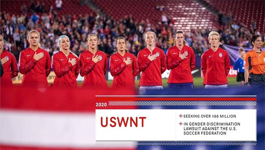 U.S. Women's Soccer Seeking Over $66 Million In Damages