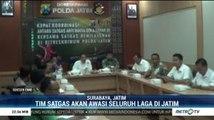 Satgas Anti Mafia Bola Jatim Ikut Awasi Laga
