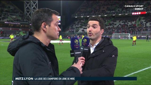 Les impressions de Vincent Hognon avant Metz / OL - Ligue 1 Conforama