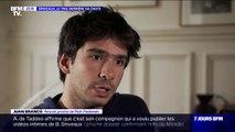 """Juan Branco: """"Qui ne rêverait pas d'être l'avocat de Piotr Pavlenski?"""""""