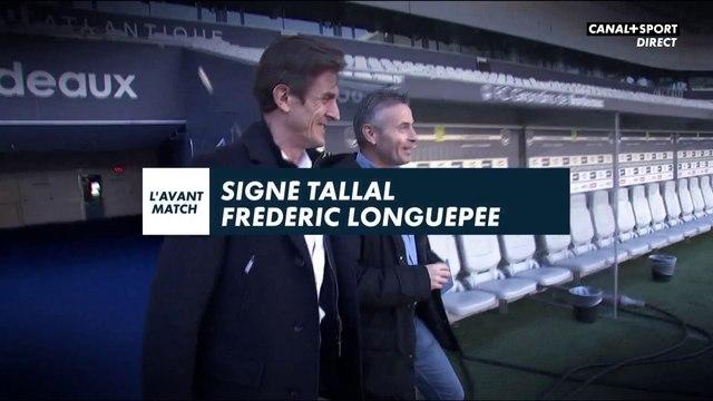 Signé Tallal avec Frédéric Longuépée (Girondins de Bordeaux)