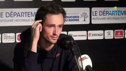 """ATP - Marseille 2020 - Daniil Medvedev éliminé en quarts : """"Ça m'inquiète un peu..."""""""