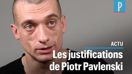 Piotr Pavlenski : « J'ai volé la vidéo de Benjamin Griveaux à Alexandra de Taddeo »