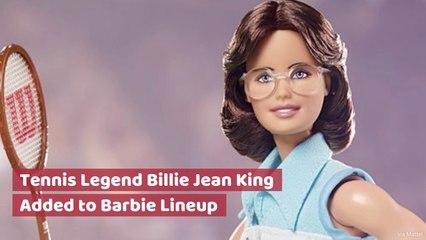 Billie Jean King Becomes A Barbie