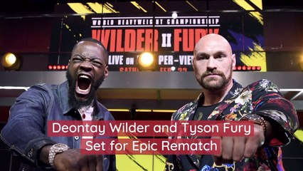 Deontay Wilder And Tyson Fury Are At It Again