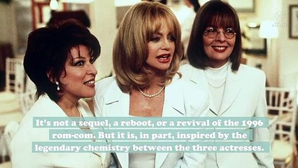 Bette Midler, Diane Keaton, and Goldie Hawn will have a First Wives Club reunion in a new movie