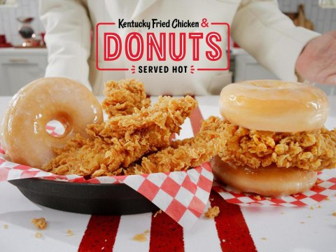 KFC Is Taking Its Chicken & Doughnuts Sandwich Nationwide