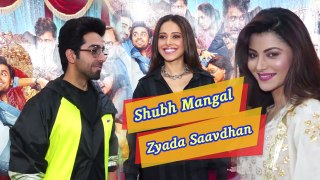 Shubh Mangal Zyada Saavdhan Special Screening | Ayushmann Khurrana, Urvashi Rautela, Hina Khan