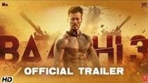 Baaghi 3   Official Trailer   Tiger Shroff  Shraddha Riteish Sajid Nadiadwala Ahmed Khan  6th MARCH / New Hindi song WhatsApp status video/ Tik tok comedy video/ New movie trailers 2020/New film 2020