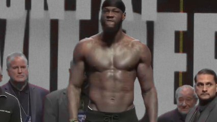 Bulky Wilder and Fury weigh in for re-match