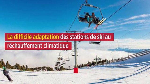 La difficile adaptation des stations de ski au réchauffement climatique