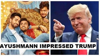 Donald Trump impresses Bollywood, reacts to Ayushmann's Shubh Mangal Zyada Saavdhan